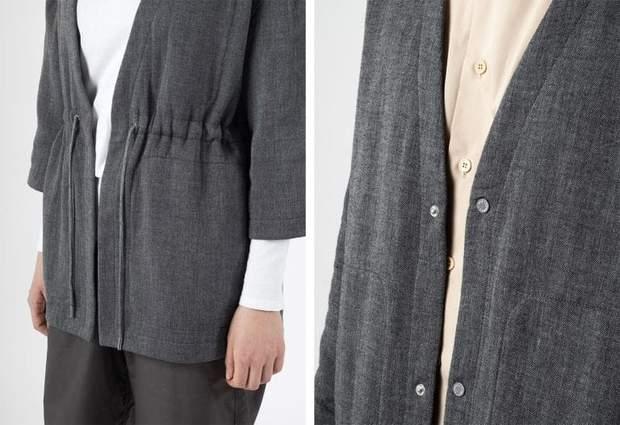 Одяг з вугілля