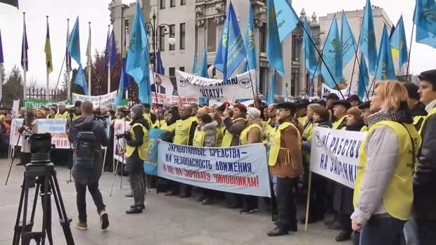 Протести профспілок