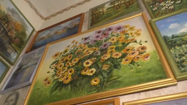 Самая пожилая художница Черкасс: 92-летняя любительница рисует волшебные картины – фото, видео