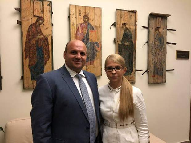 Тимошенко і Мунтян