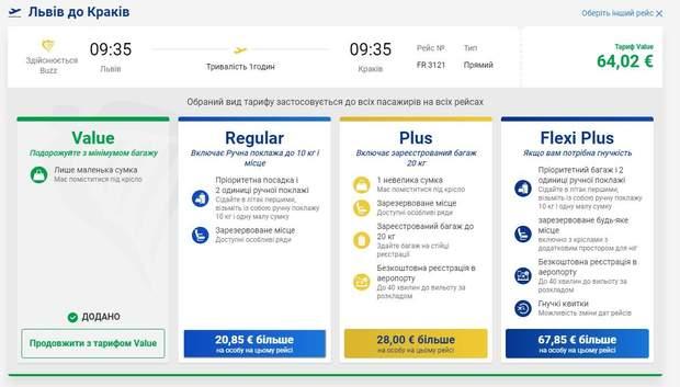 Ryanair возвращает тариф с изменением даты вылета