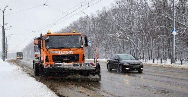 Снігопад в Харкові