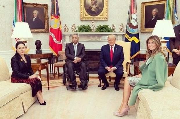 Офіційна зустріч президентів США та Еквадору