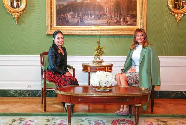 Меланія Трамп з дружиною президента Еквадору