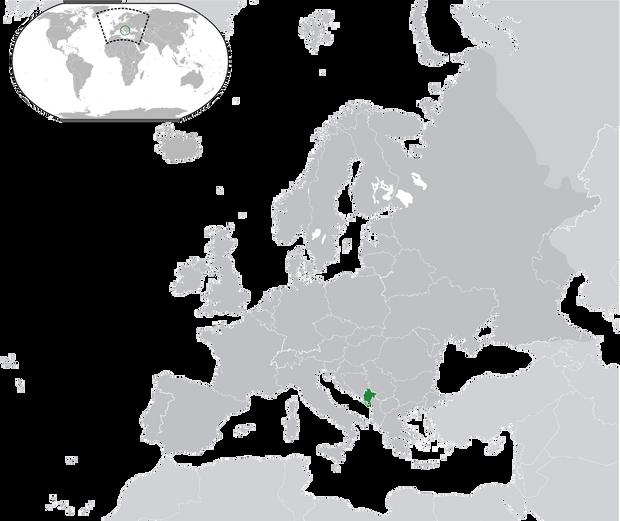 Чорногорія у світі
