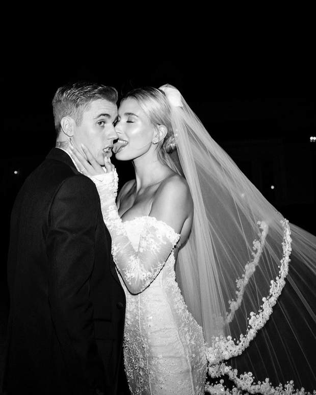 Джастін Бібер з дружиною