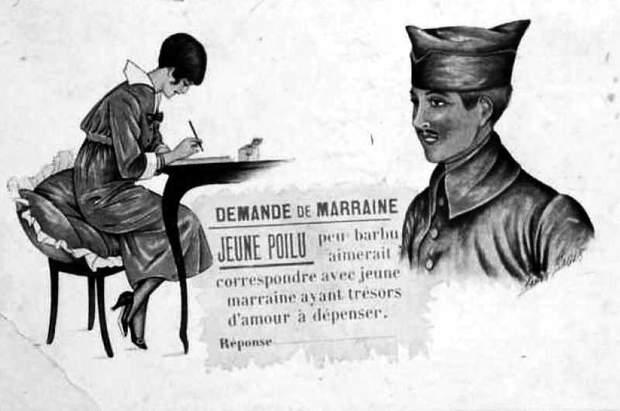 листування перша світова війна