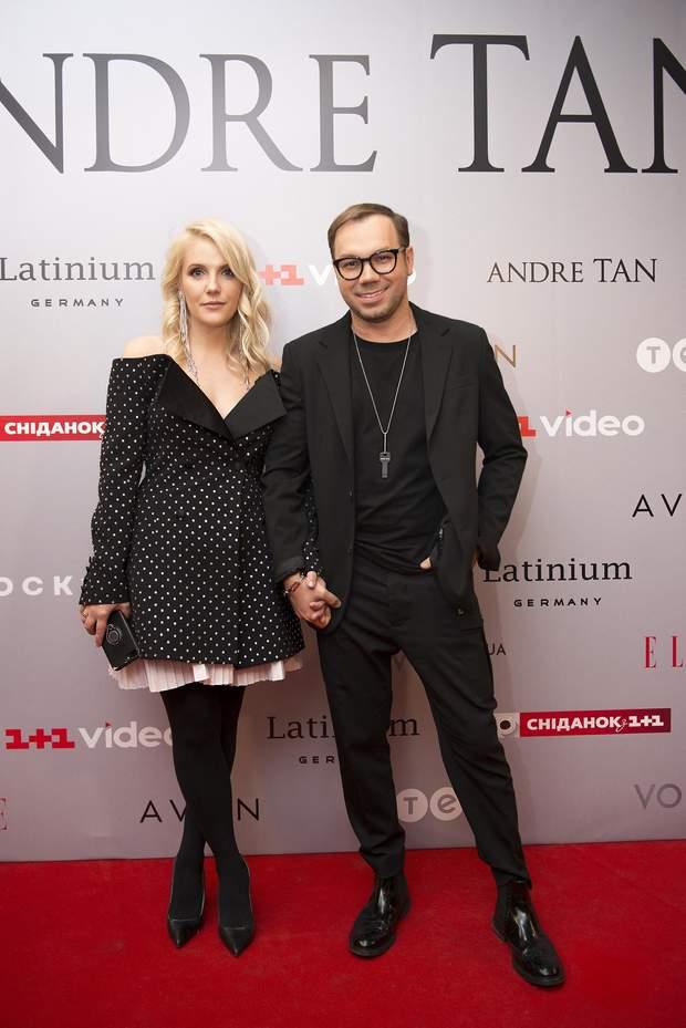 Андре Тан з дружиною