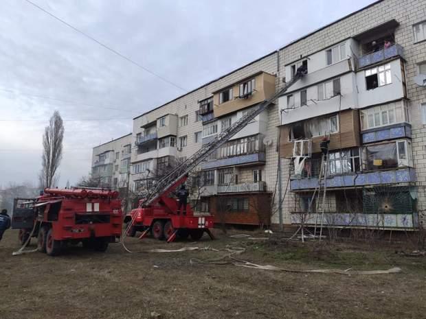 Вибух, пожежа, Ізмаїл, ДСНС, Ізмаїл, Одеська область