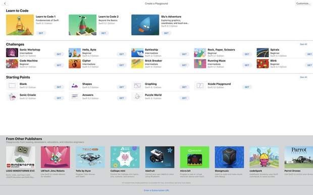 Apple випустила курс з програмування
