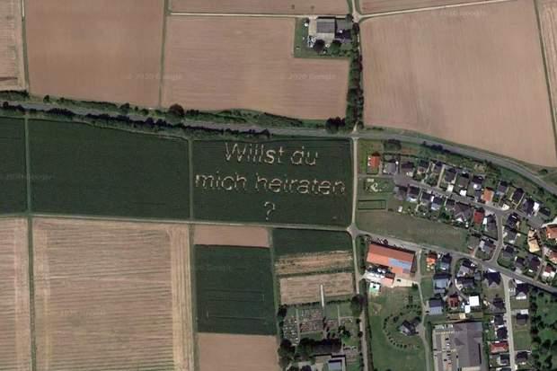 Пропозиція фермера на Goofle Maps