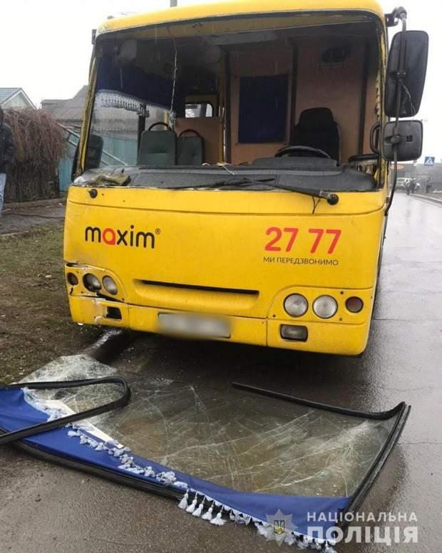 маріуполь дтп автобус богдан