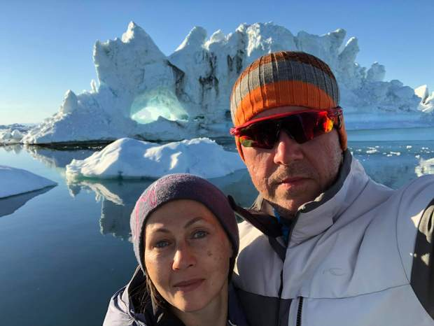 Пара у Гренландії
