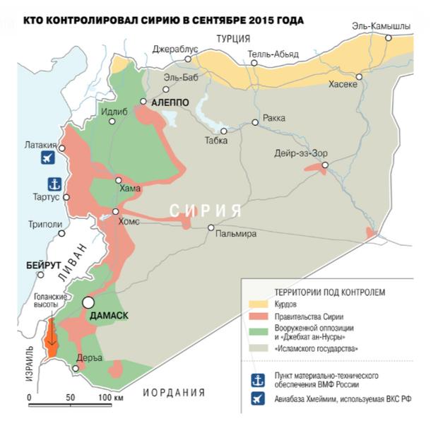 громадянська війна в сирії 2015