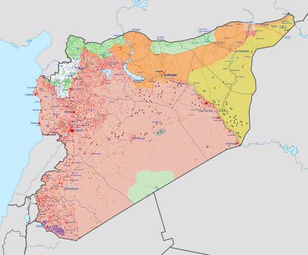громадянська війна в сирії