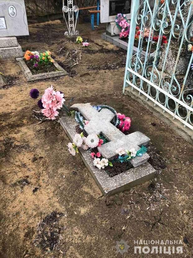 Кладовище Миколаївщина вандали