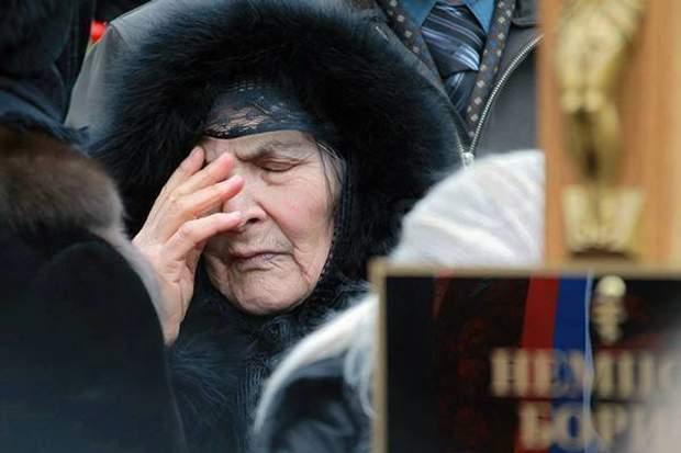 мать Бориса Немцова