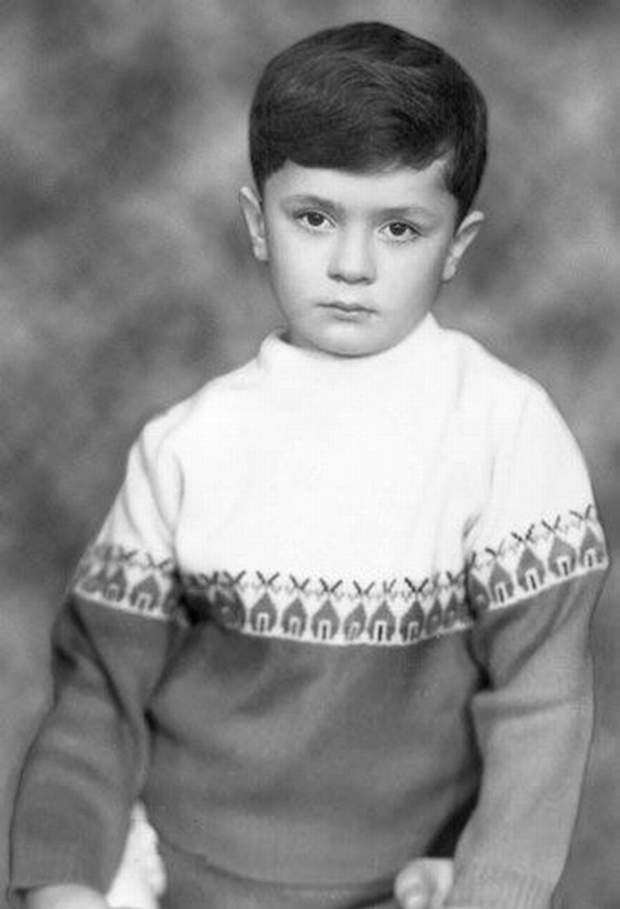 Петро Порошенко у дитинстві