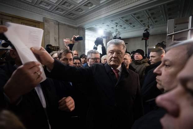 порошенко на допиті в ДБР
