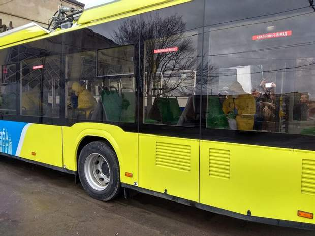 У Львові дезінфікують громадський транспорт