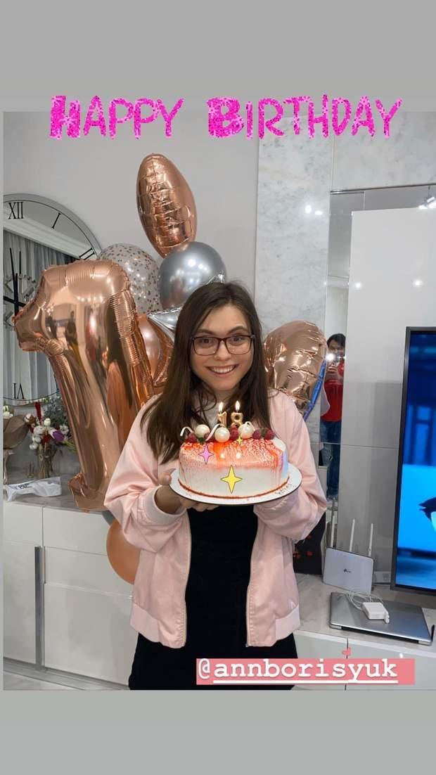 Донька Ольги Сумської відсвяткувала 18-річчя