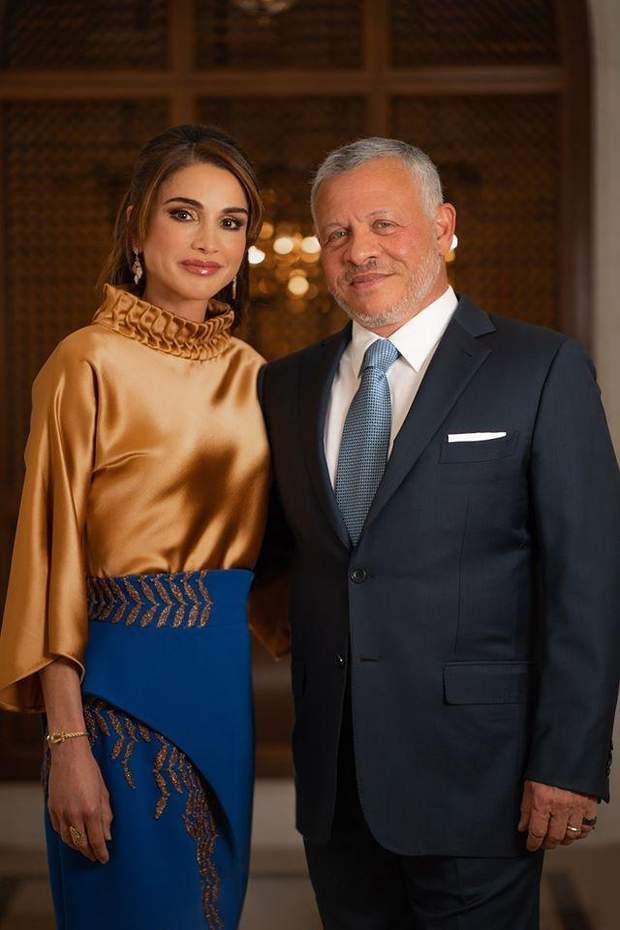 Король Абдалла ІІ з дружиною Ранією
