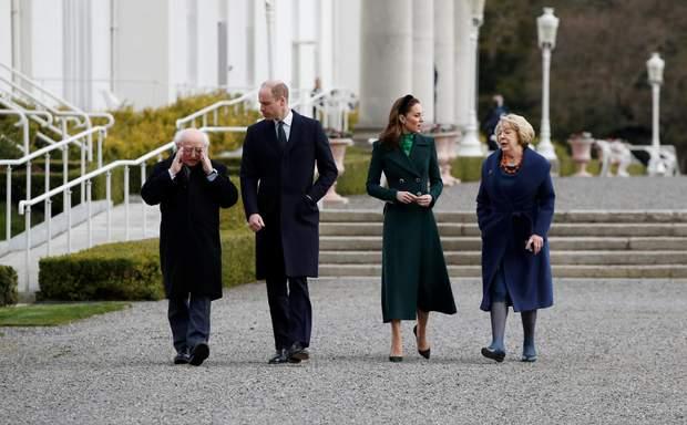 Герцоги Кембриджські в Ірландії