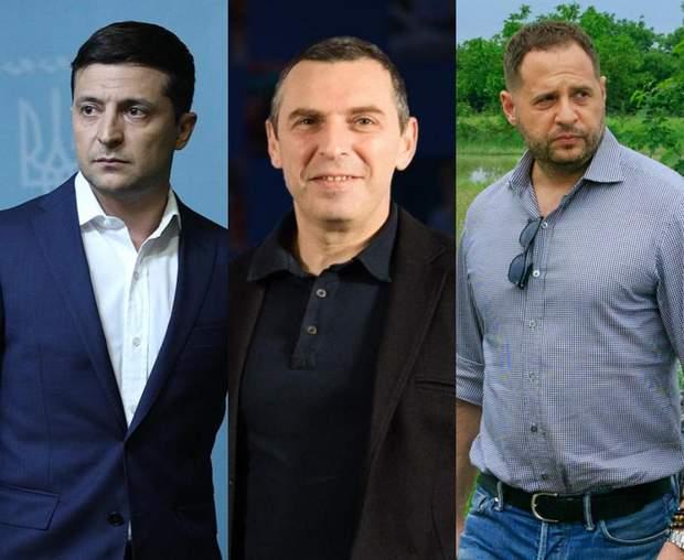 Володимир Зеленський Сергій Шефір Андрій Єрмак