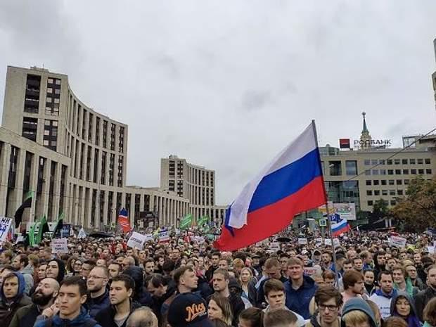 протест москва сахарова