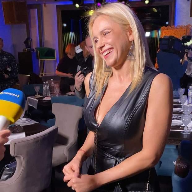 Лілія Ребрик дала інтерв'ю каналу, на яких працює