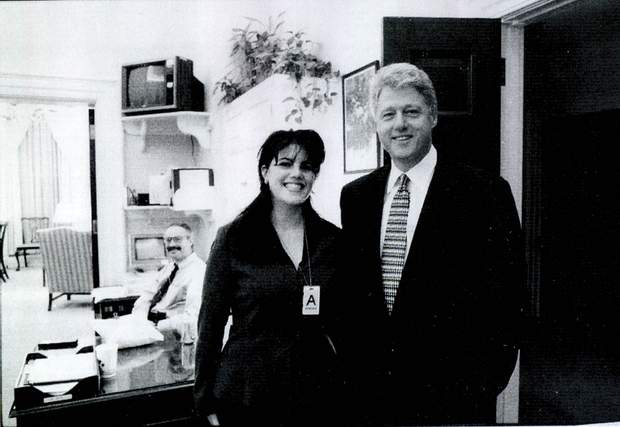 Білл Клінтон з коханкою
