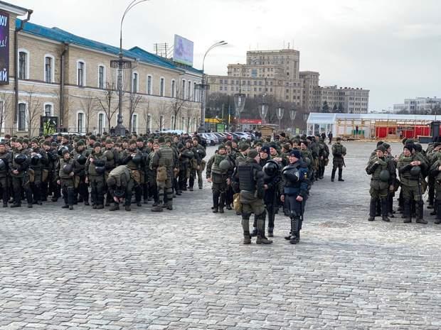 Захід посилено охороняли правоохоронці