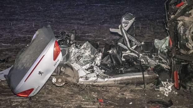 ДТП Бориспіль раса вантажівка іномарка 3 загиблих