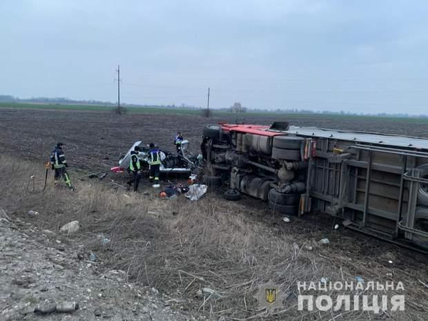 вантажівка ДТП Бориспіль