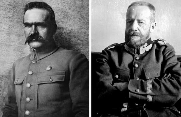 Желіговський та Пілсудський