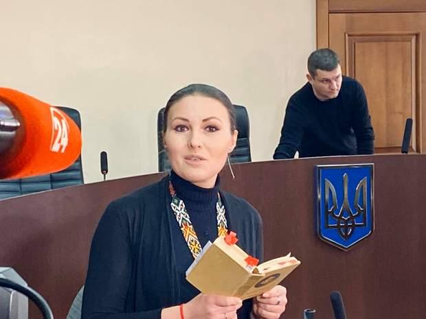 Федина з Кобзарем у суді