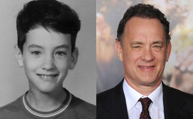 Наскільки Том Генкс змінився з дитинства