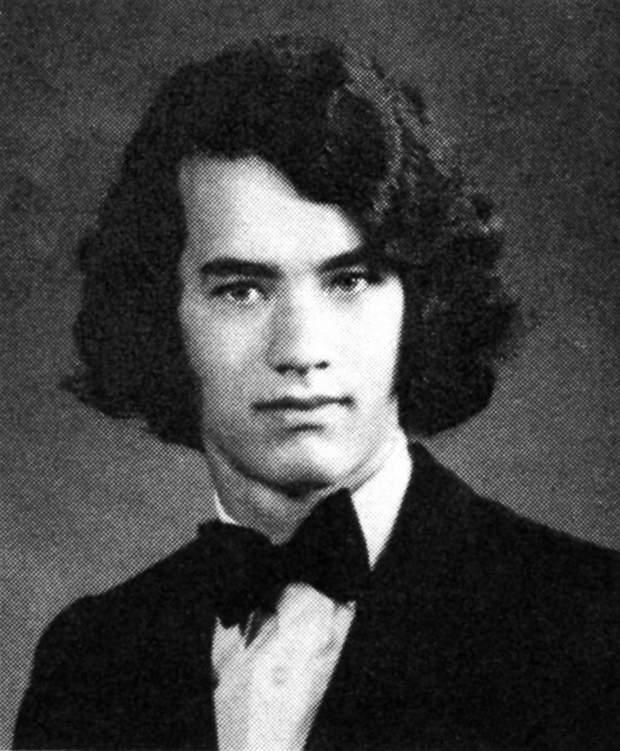 Том Генкс в молодості