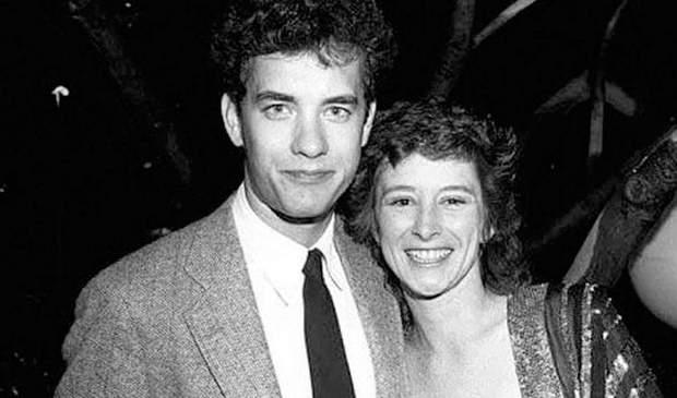 Том Генкс з першою дружиною