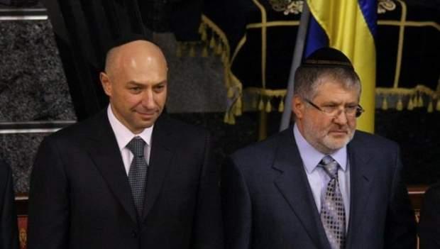 Ігор Коломойський та Геннадій Боголюбов