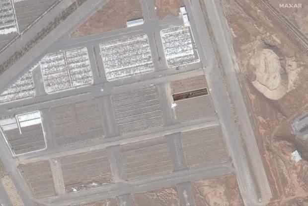 Масові поховання в Ірані