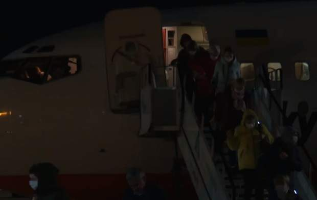 евакуйовані з Італії українці