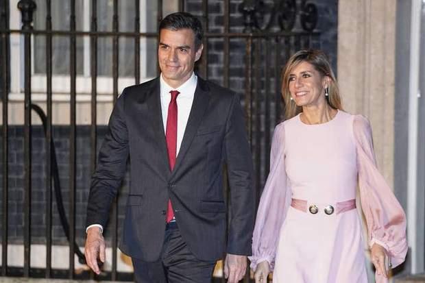 Педро Санчес та Бегонія Гомес
