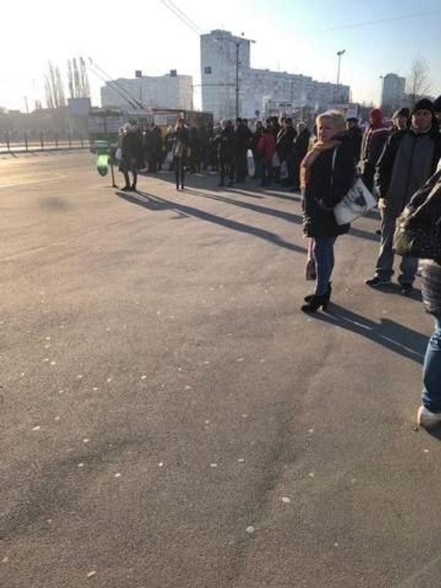 черги на маршрутки, Київ