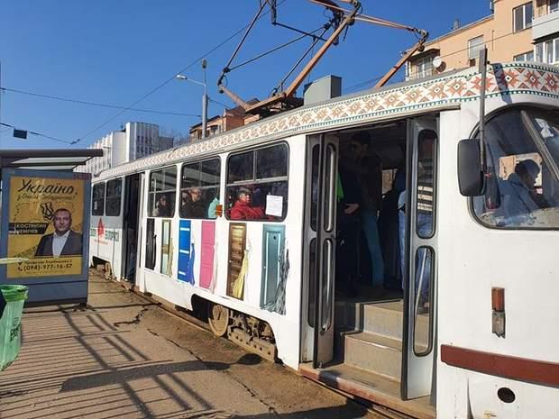 Харків без метро, повний трамвай