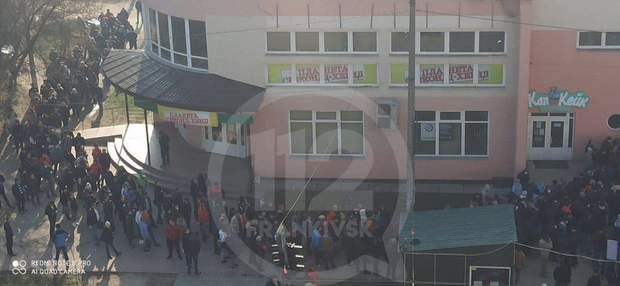 Ситуація біля візового центру у Франківську