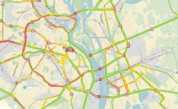 Яндекс карти під час Майдану