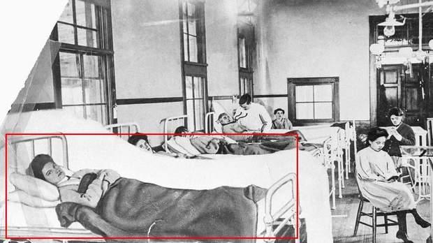 Мері Маллон у лікарні
