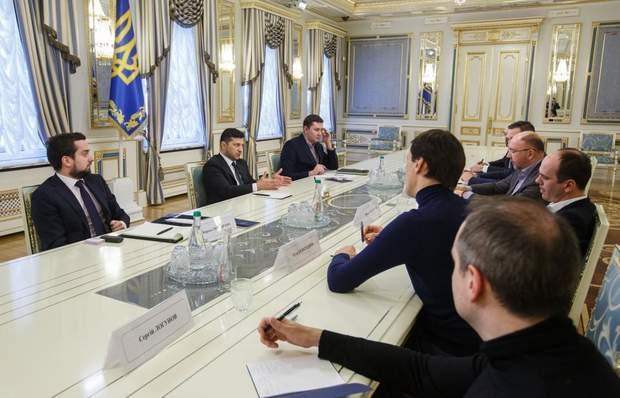 Зеленський обговорив реалізацію освітнього проєкту на телебаченні