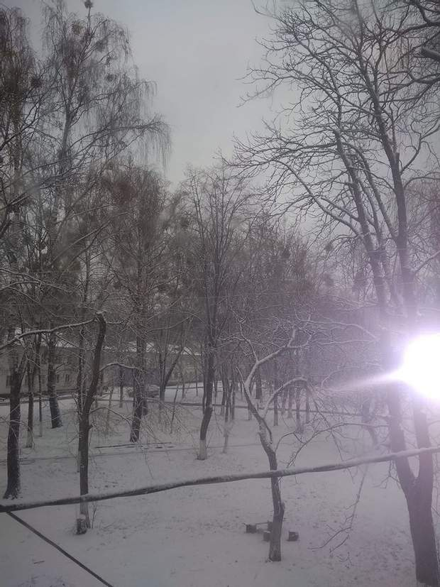 Засніжений Чернігів
